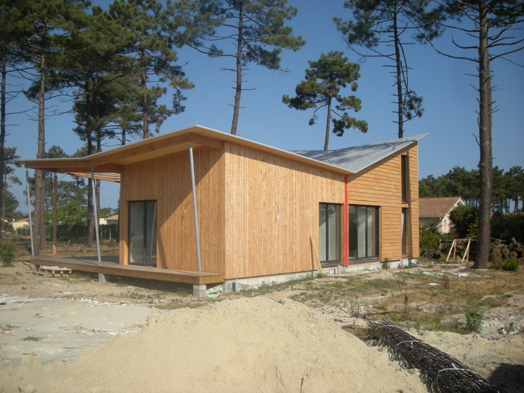 Maison ossature bois atout charpente for Ossature bois
