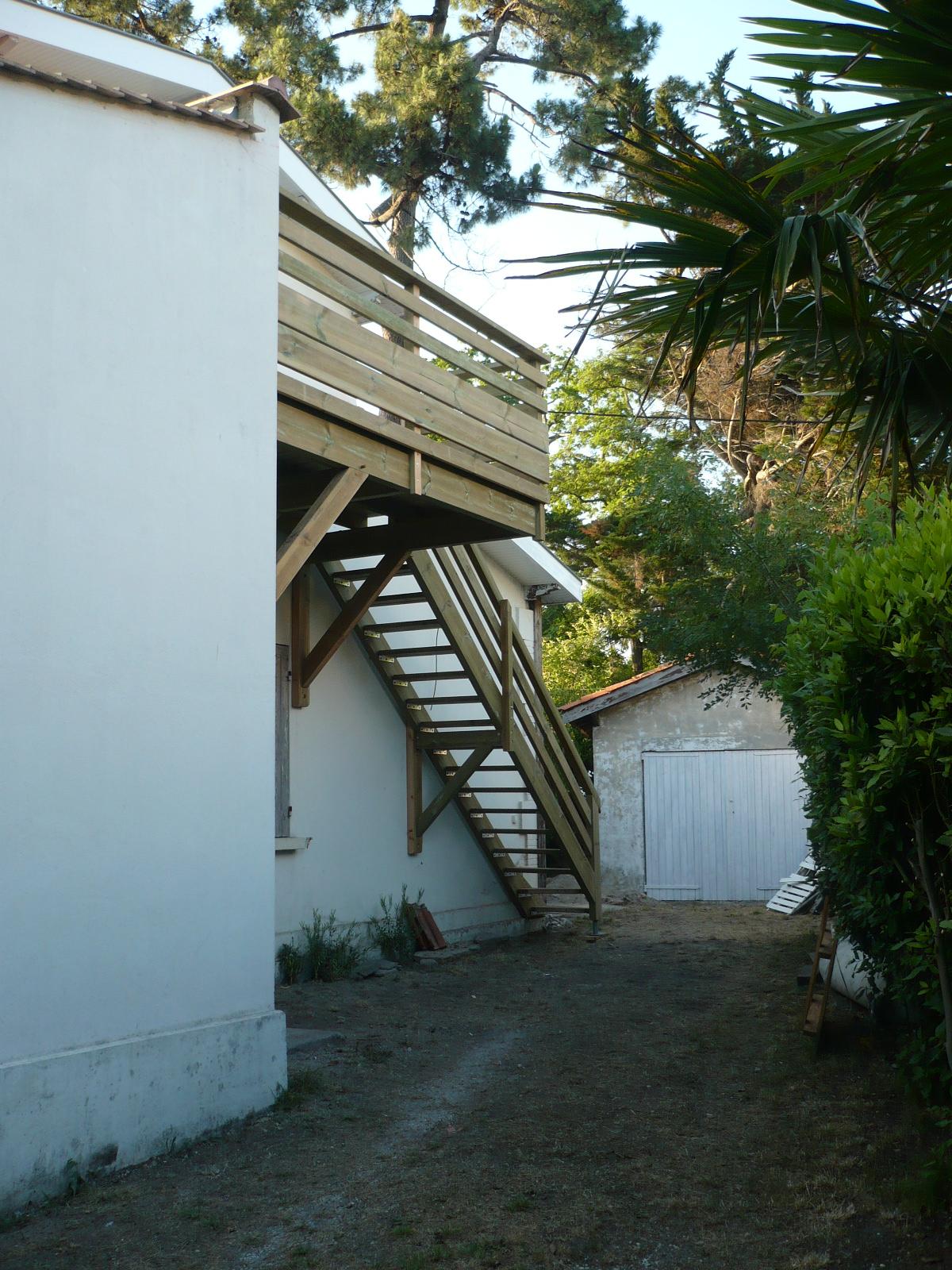 Escalier Exterieur Atout Charpente